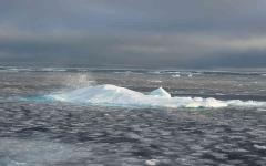 الصورة: الصورة: شاهد.. ثاني أدنى انخفاض لمستوى الجليد بالقطب الشمالي في التاريخ