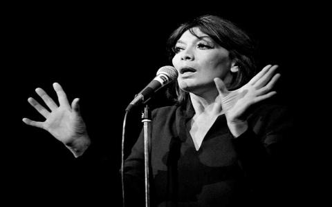 الصورة: الصورة: رحيل أيقونة الغناء الفرنسي جولييت غريكو صديقة الفلاسفة
