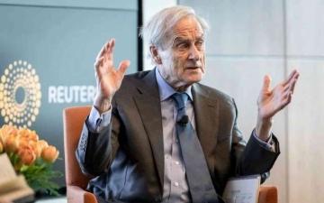 الصورة: الصورة: وفاة هارولد إيفانز أحد رواد الصحافة العالمية