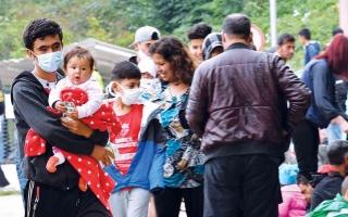 الصورة: الصورة: الهجرة ملف يعزز الانقسام بين دول الاتحاد الأوروبي