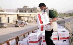 الصورة: الصورة: الإمارات تغيث حضرموت بـ 21 طناً من المساعدات