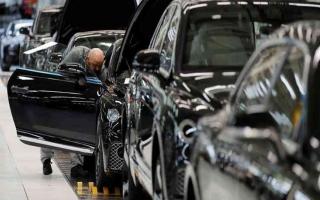 الصورة: الصورة: 44.6 % تراجع إنتاج السيارات في بريطانيا