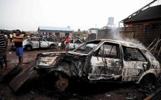الصورة: الصورة: 556 قتيلاً بـ 41 هجوماً إرهابياً في أفريقيا خلال شهر