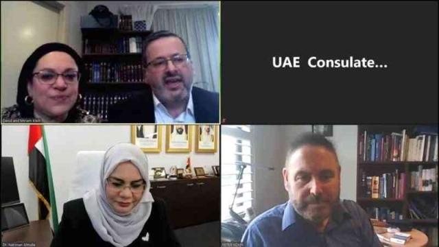 صورة رسالة دعم إماراتية لعائلة يهودية أصيبت بـ «كورونا» في أستراليا – عبر الإمارات – أخبار وتقارير