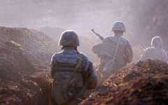 الصورة: الصورة: إقليم ناجورنو قرة باغ يعلن تدمير 4 طائرات و10 دبابات لأذربيجان