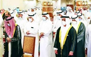رئيس الدولة يوجه بإقامة صلاة الغائب على روح   صباح الأحمد اليوم