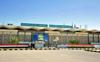 بعد توقف 6 أشهر.. مطار دمشق يستأنف رحلاته التجارية
