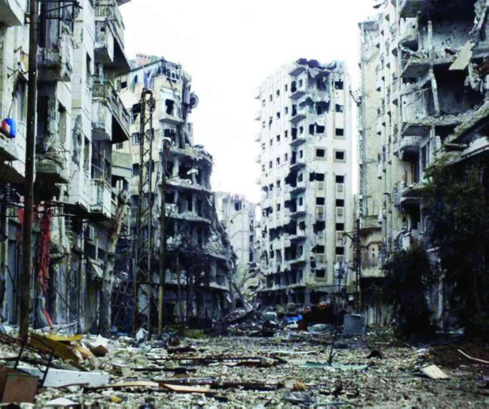 الصورة : حلب الشرقية