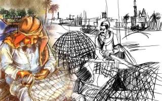 الصورة: الصورة: الصيد طـــرق وأدوات ميَّزت الإمارات