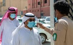 الصورة: الصورة: انخفاض كبير في إصابات كورونا في السعودية