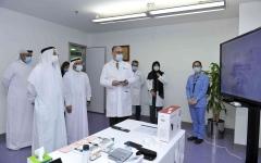 """الصورة: الصورة: """"صحة دبي"""" تستحدث نظاماً ذكياً لرعاية مرضى السكري عن بُعد"""