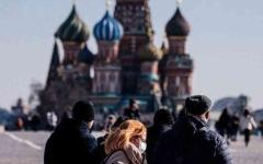 الصورة: الصورة: روسيا تسجل ارتفاعاً قياسياً في حالات الإصابة والوفيات بكورونا