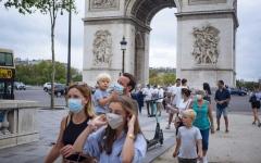 الصورة: الصورة: إعلان حظر تجوال ليلي في باريس وعدد من المدن الفرنسية الكبرى