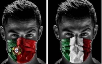 الصورة: الصورة: رونالدو قد يكون خرق البروتوكول الصحي بحسب وزير الرياضة الايطالي