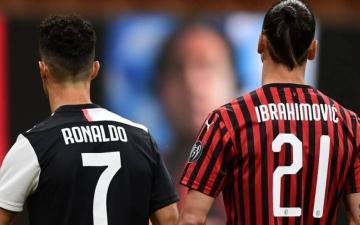 الصورة: الصورة: عودة إبراهيموفيتش وغياب رونالدو..مواجهات صعبة في الدوري الإيطالي غداً