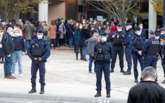 الصورة: الصورة: فرنسا تكشف تفاصيل حادثة ذبح المدرس