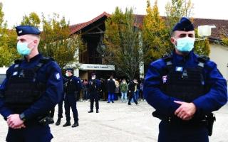 الدولة تدين العمل الإرهابي في فرنسا