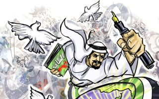 الإمارات واحة المثقفين ومنارة الخير والسلام