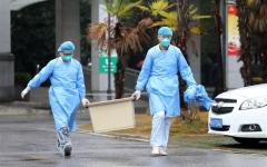 الصورة: الصورة: الصين: غرفة التصوير في مستشفى هي مصدر تفشي كورونا في تشينغداو