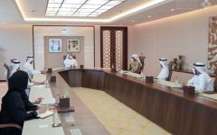 الصورة: الصورة: مكتوم بن محمد: نعمل وفق رؤية محمد بن راشد لتطوير الجهاز الحكومي في دبي