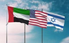 الصورة: الصورة: الطاير والجابر يبحثان مع وزير الخزانة الأمريكي ورجال أعمال إسرائيليين تعزيز التعاون