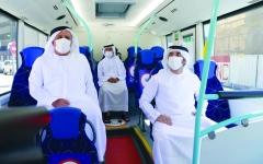 الصورة: الصورة: حمدان بن محمد: مستمرون في تنويع خدمات دبي.. هدفنا مدينة ذكية مستقبلية