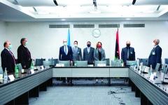 الصورة: الصورة: تفاؤل دولي بمفاوضات المسار العسكري الليبي