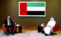 الصورة: الصورة: قرقاش: موقف الإمارات راسخ في دعم الشعب الفلسطيني