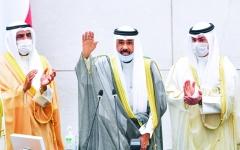 الصورة: الصورة: أمير الكويت يدعو للوحدة الوطنية قبل الانتخابات