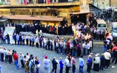 الصورة: الصورة: أزمة الخبز تفاقم معاناة السوريين