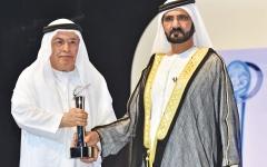 الصورة: الصورة: الإمارات تودع إبراهيم العابد أحد أعمدة الإعلام