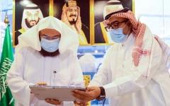 """الصورة: الصورة: الرئيس العام لشؤون الحرمين يدشن مبادرة """"معتمرون"""""""