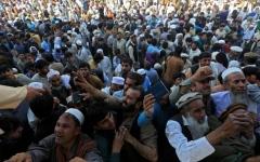 الصورة: الصورة: مقتل 15 شخصاً في تدافع طالبي تأشيرات عند القنصلية الباكستانية في أفغانستان