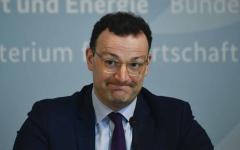 الصورة: الصورة: إصابة وزير الصحة الألماني بفيروس كورونا