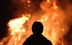 الصورة: الصورة: بالفيديو.. إخماد 70% من حريق تنومة بالسعودية ولا إصابات