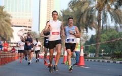 """الصورة: الصورة: التنافس على ثلاث فئات.. """"نصف ماراثون المدينة"""" ينطلق غداً في دبي"""