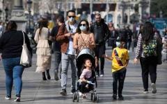 الصورة: الصورة: أوروبا تسجل أكثر من 200 ألف إصابة يومية بكورونا للمرة الأولى