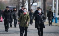 الصورة: الصورة: كوريا الشمالية: الغبار القادم من الصين ينشر كورونا