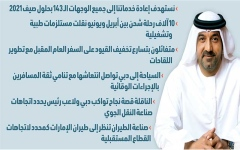 الصورة: الصورة: أحمد بن سعيد في حوار خاص لـ «البيان»: محمد بن راشد أعاد دبي إلى درب الانتعاش