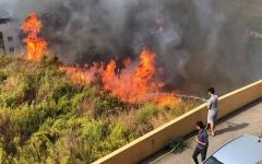 الصورة: الصورة: لبنان.. حرائق في كل مكان