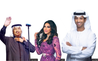 الصورة: الصورة: فايز السعيد يجمع نجوم الخليج في أوبريت جديد