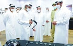 الصورة: الصورة: حمدان بن محمد: دعم محمد بن راشد يرسخ الإمارات الأكثر أمناً في العالم