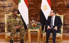 """الصورة: الصورة: سد النهضة.. السيسي والبرهان يؤكدان على """"الاتفاق الملزم"""""""