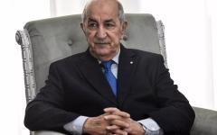 الصورة: الصورة: نقل رئيس الجزائر عبدالمجيد تبون إلى ألمانيا