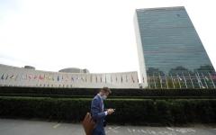 الصورة: الصورة: فيروس كورونا يصيب الأمم المتحدة