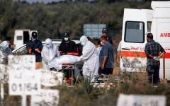 الصورة: الصورة: الصحة العالمية تكشف عن منحنى خطير لكورونا في الشرق الأوسط
