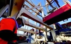 الصورة: الصورة: موانئ دبي العالمية تسعى للمنافسة على خصخصة ميناء حيفا