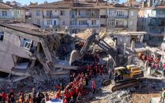 الصورة: الصورة: ارتفاع ضحايا زلزال تركيا إلى 12 قتيلاً وأكثر من 400 جريح