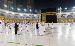 الصورة: الصورة: أولى رحلات المعتمرين من خارج السعودية تصل جدة الأحد المقبل