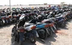الصورة: الصورة: شرطة رأس الخيمة تضبط 369 دراجة مخالفة